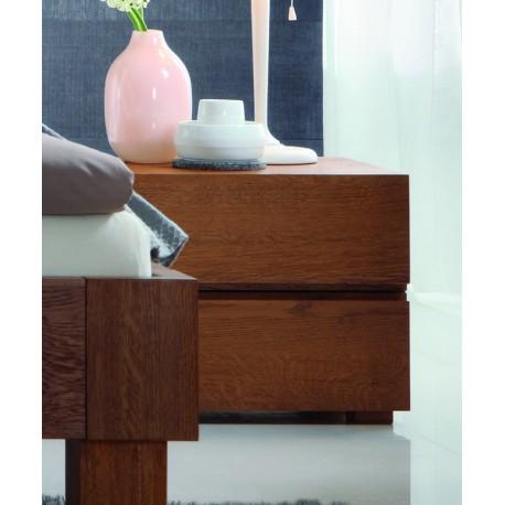 hasena oak line menza nachttische eiche cognac geb rstet ge lt. Black Bedroom Furniture Sets. Home Design Ideas