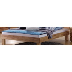 HASENA Wood Line Bettrahmen Classic 16 Kernbuche natur 100x200