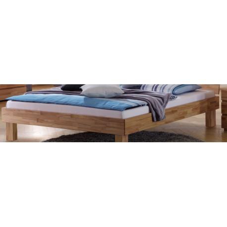 HASENA Wood Line Bettrahmen Classic 16 Kernbuche natur 120x200