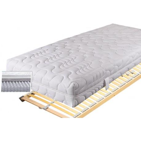 matratzen spar set 140x200 cm mit lattenrost und kissen. Black Bedroom Furniture Sets. Home Design Ideas