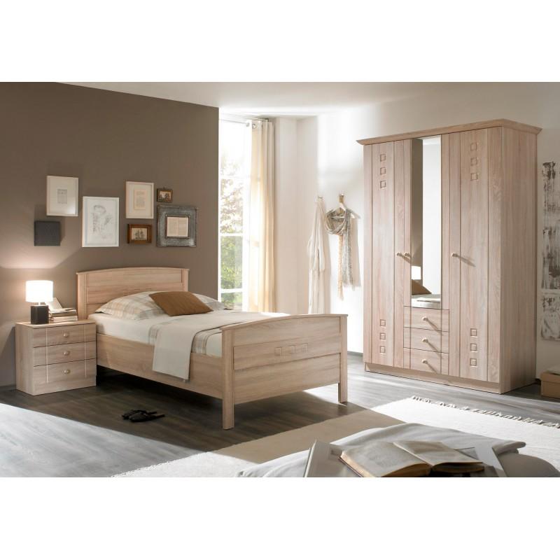 Seniorenzimmer und schlafzimmer mit schrank und bett und for Komfortbett 100x200