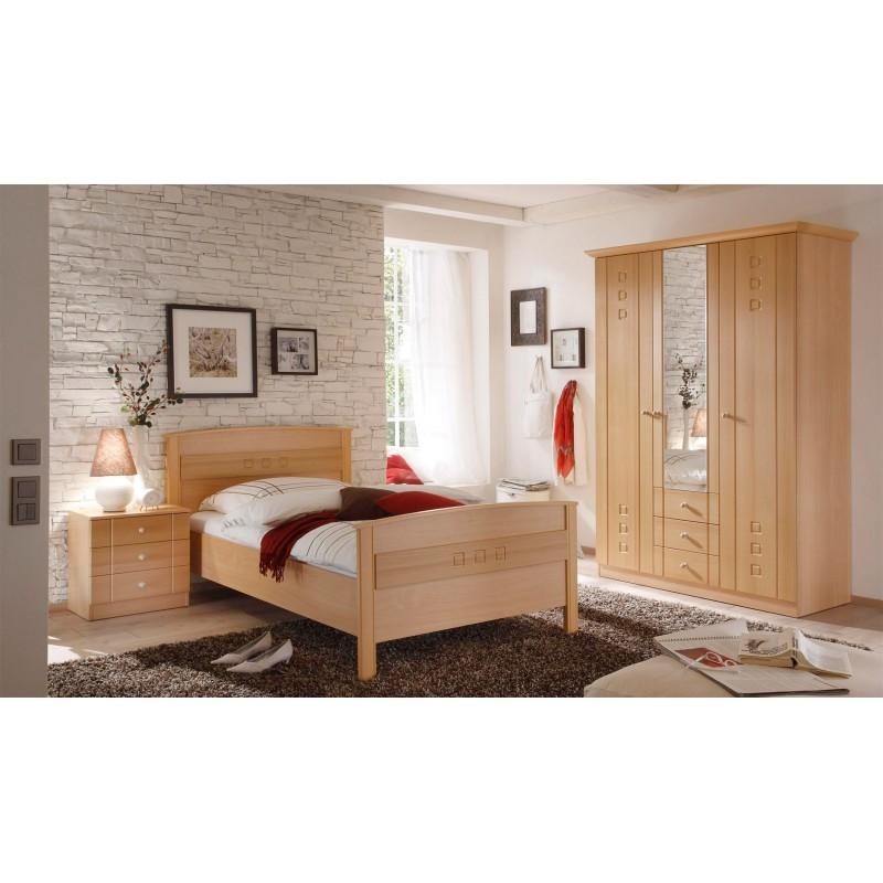 Seniorenzimmer Und Schlafzimmer Buche Dekor Mit Kleiderschrank