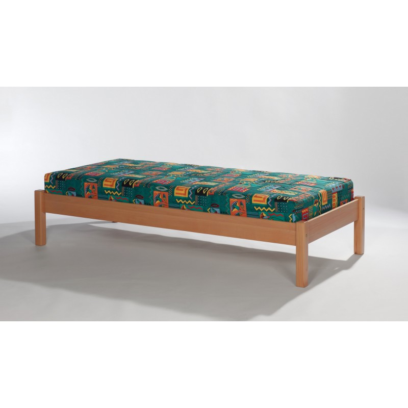 g nstiges massivholzbett buche natur lackiert 90x200 cm. Black Bedroom Furniture Sets. Home Design Ideas
