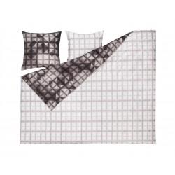 ESTELLA Mako Satin Bettwäsche Pattern anthrazit 280x240