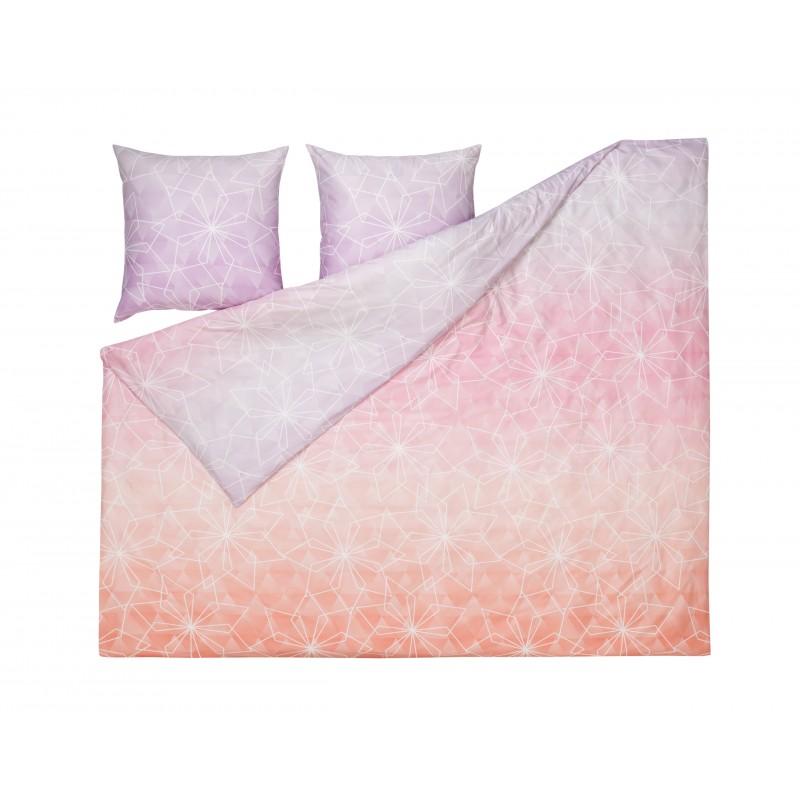 estella mako satin bettw sche origami 200x220 cm bergr e. Black Bedroom Furniture Sets. Home Design Ideas