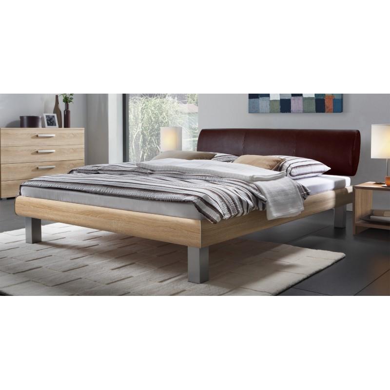 hasena soft line bett kopfteil elipsa f e mico alu 90x190 cm. Black Bedroom Furniture Sets. Home Design Ideas