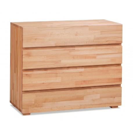 HASENA Wood Line Kommode Lovara Buche Kernbuche 4 Schubladen