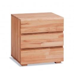 HASENA Wood Line Nachttisch Treva Kernbuche natur 3 Schubladen