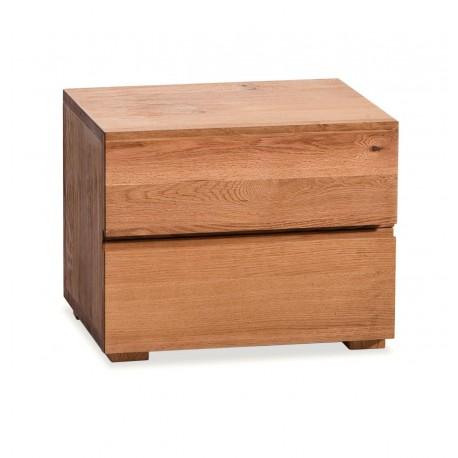 hasena oak line nachttisch menze eiche natur ge lt 2 schubladen. Black Bedroom Furniture Sets. Home Design Ideas