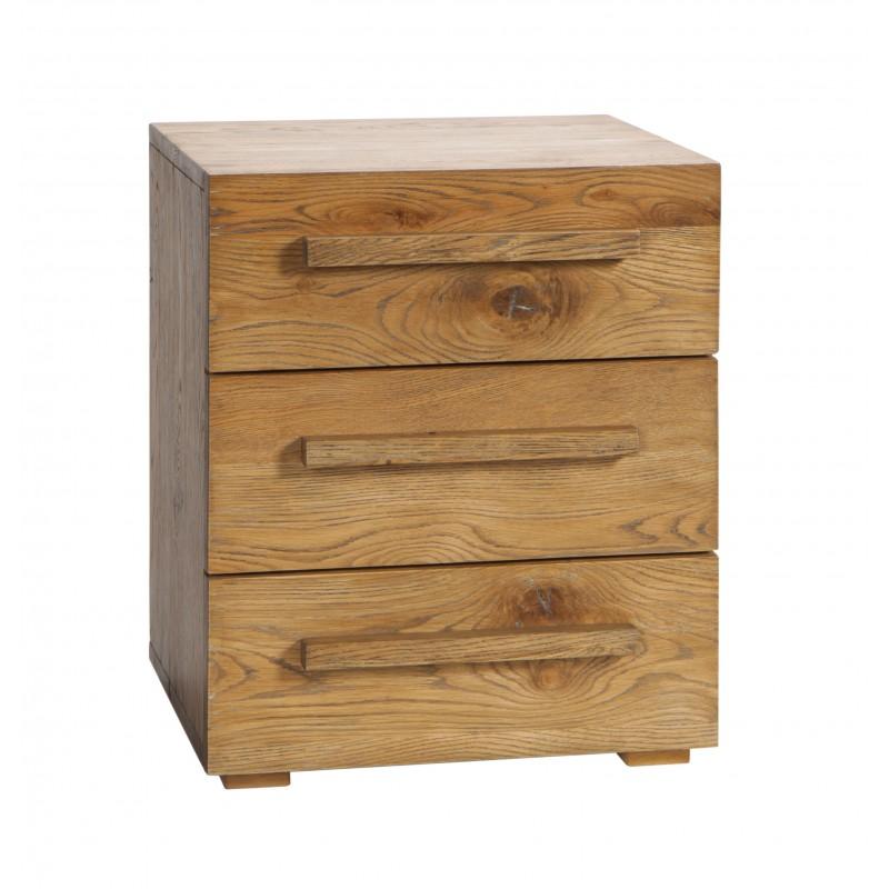 hasena oak wild vintage nachttisch cerina drei schubladen. Black Bedroom Furniture Sets. Home Design Ideas