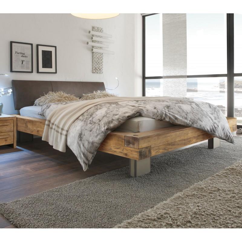 Hasena Oak Wild Vintage Bett Mit Kopfteil Ripo Und Fussen Quada 140x200