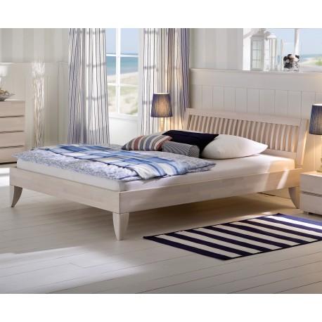 hasena wood line bettgestell f e cima kopfteil buche wei 140x200. Black Bedroom Furniture Sets. Home Design Ideas