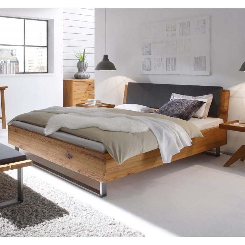 hasena oak wild wildeiche bett f e indus kopfteil sion 200x210 schlaf individual matratzen. Black Bedroom Furniture Sets. Home Design Ideas