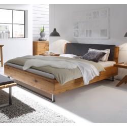 Hasena Oak Wild Wildeiche Bett Füße Indus Kopfteil Sion 160x220
