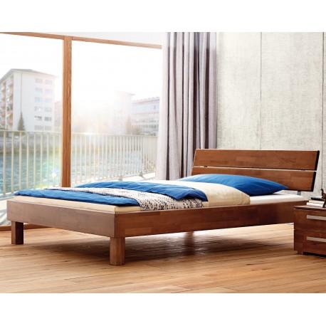 Hasena Wood Line Bett Premium 18 walnuss Kopfteil Duetto 140x200