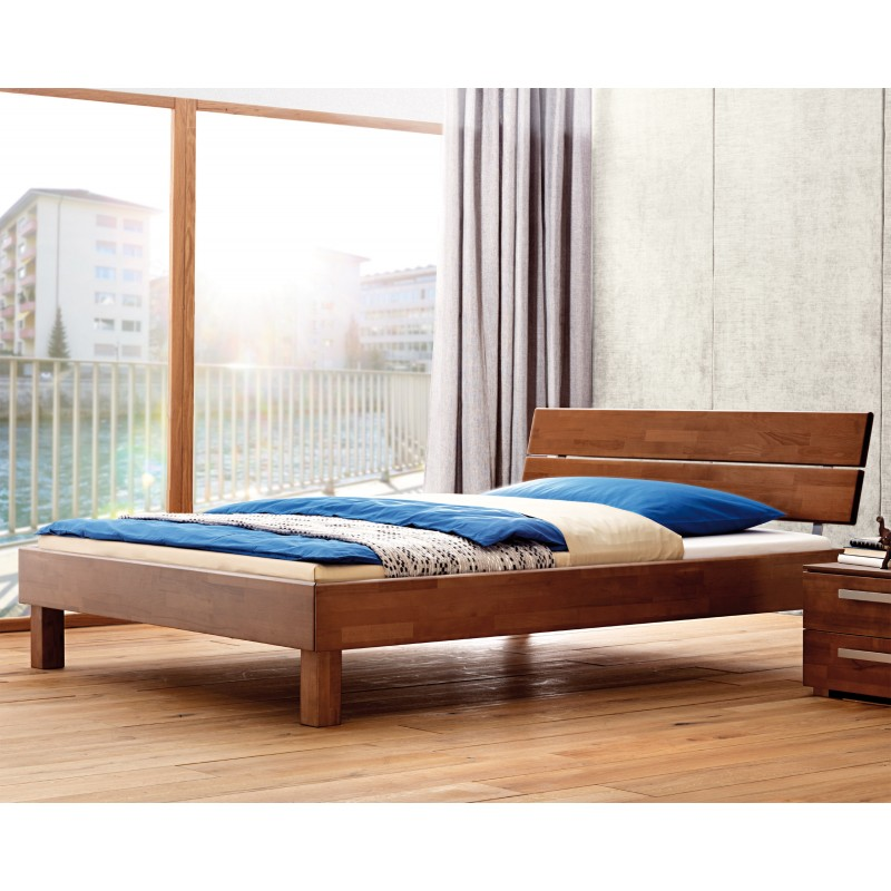hasena wood line premium 18 bett walnuss kopfteil duetto. Black Bedroom Furniture Sets. Home Design Ideas
