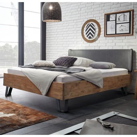 Hasena Oak Wild Vintage Bett Kopfteil Obag Kunstleder 140x200 Cm