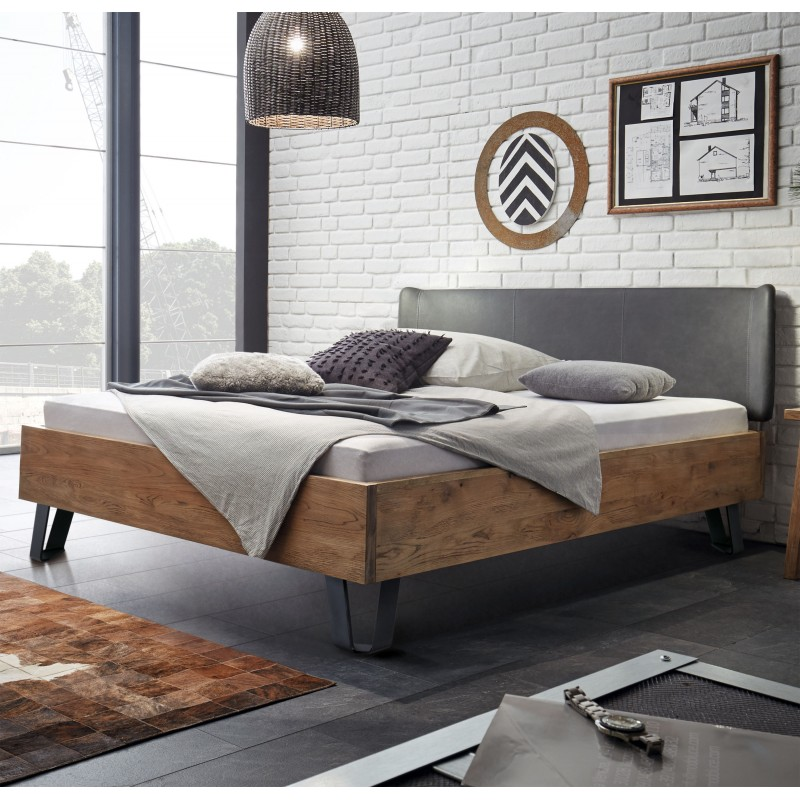 hasena oak wild vintage bettgestell cadro 23 140x200 cm. Black Bedroom Furniture Sets. Home Design Ideas