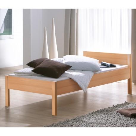 HASENA Komfortbett Lys höhenverstellbar Buche Dekor 100x200