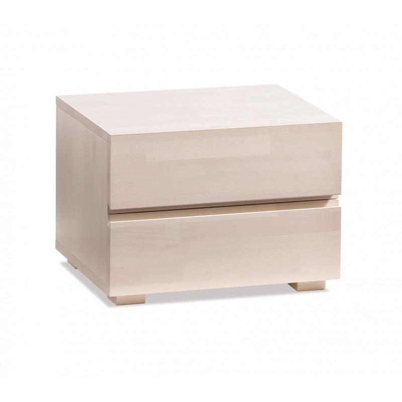 hasena wood line dupla nachttisch buche wei. Black Bedroom Furniture Sets. Home Design Ideas