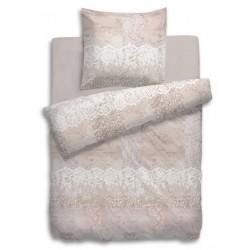 Feinbiber Bettwäsche Lux rosa 135x200