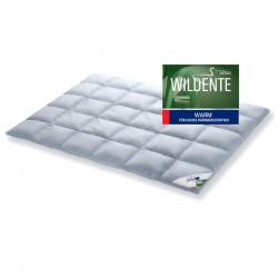 SCHLAFSTIL Premium Wildente Daunendecke warm 155x220