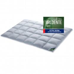 SCHLAFSTIL Premium Wildente Daunendecke extra warm 200x220