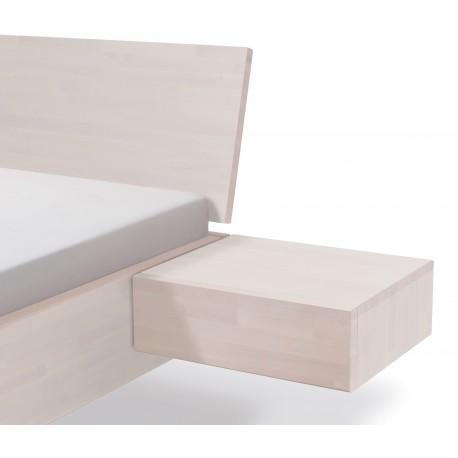 hasena wood line nachttisch caja schwebend 1 schublade buche wei. Black Bedroom Furniture Sets. Home Design Ideas