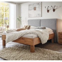 HASENA Oak Wild Bett Cadro 23 Füße Ivio 25 Wandpaneel Wildeiche natur 160x200