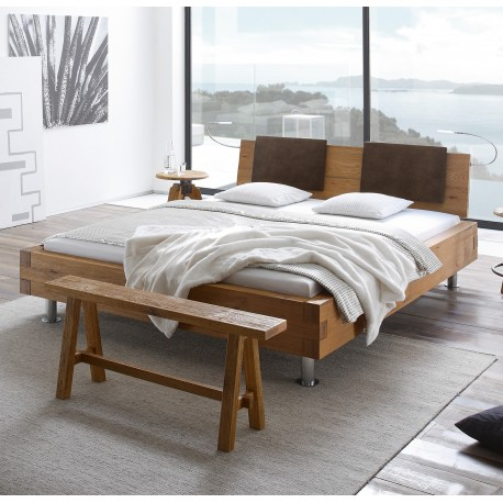 hasena bett pilatus 23 f e grado kopfteil sion 2 kissen sano 160x200. Black Bedroom Furniture Sets. Home Design Ideas