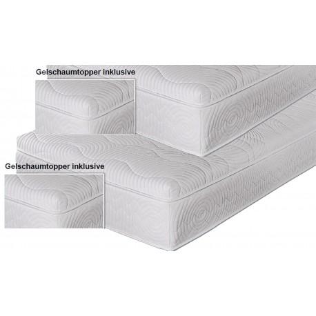 SCHLAF INDIVIDUAL Spar-Set Boxspringmatratze Alina Gel Topper 80x200 H2
