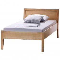 HASENA Komfortbett Arino höhenverstellbar Buche massiv mit Kopfteil 120x200
