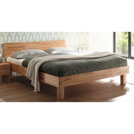 Hasena Wood Line Bett Forti 20 Kernbuche mit Kopfteil Pella 160x200