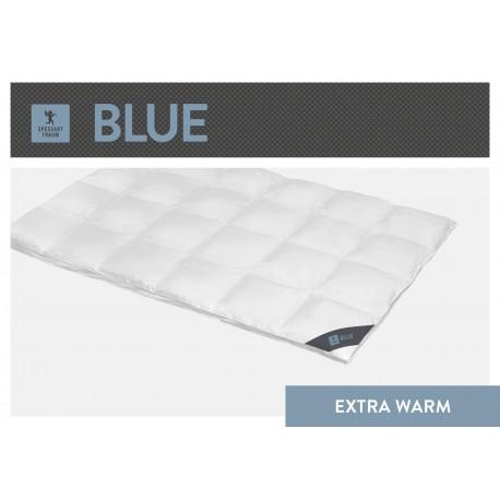 Spessarttraum Blue Aussenstegdecke - Extra Warm - 135x200 Daunen und Federn
