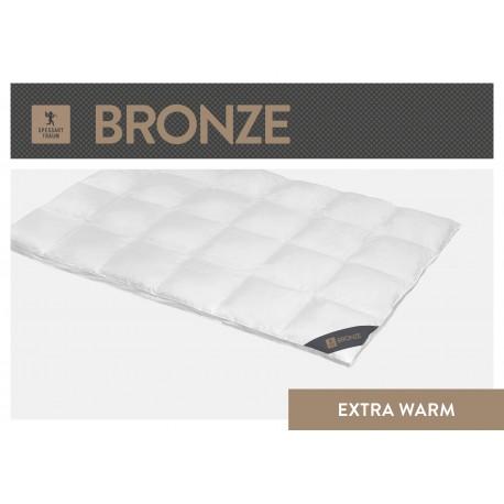 Spessarttraum Bronze Aussenstegdecke - Extra Warm - 135x200 Daunen und Federn