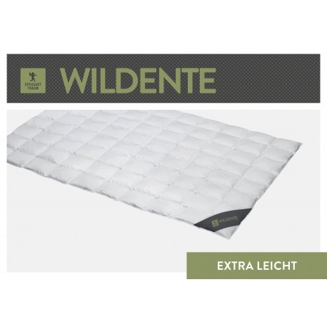Spessarttraum Wildente Einziehdecke EXTRA LEICHT 135x200 Daunen