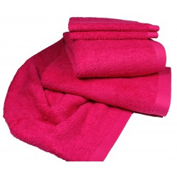 LASA Pure Duschtuch 70x140 fucsia pink