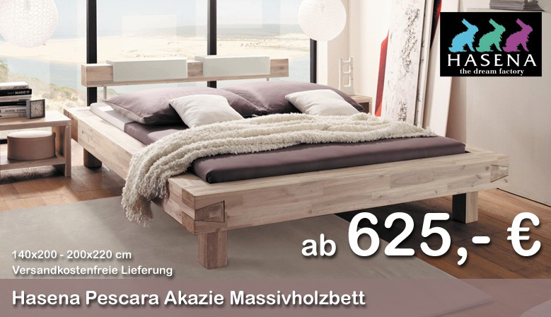 Hasena Coast Line Pescara Akazie Bett